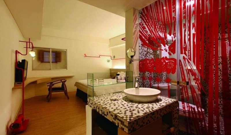 佳佳西市場文化旅店 織女線房