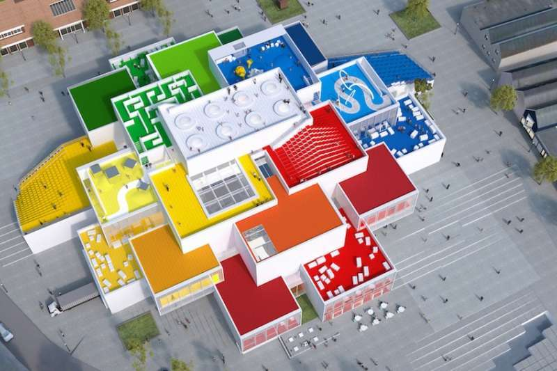 LEGO HOUSE示意圖。(圖/Shopping Design提供)