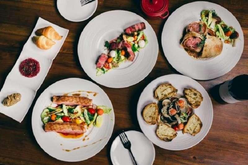 經典義大利菜及法國菜完美的做結合,地中海料理的主要特色都是以豐富海鮮、新鮮香料和多種蔬果入菜,講求新鮮自然。(圖/ JK STUDIO 新義法料理)