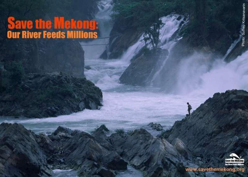 國際環保人士已發起「搶救湄公河」(Save the Mekong)運動(Save the Mekong)