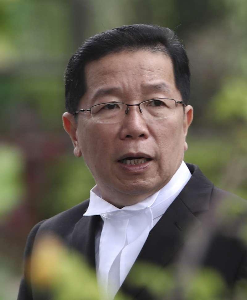 金正男遇刺:印尼女嫌西蒂艾莎的辯護律師顧順成(AP)