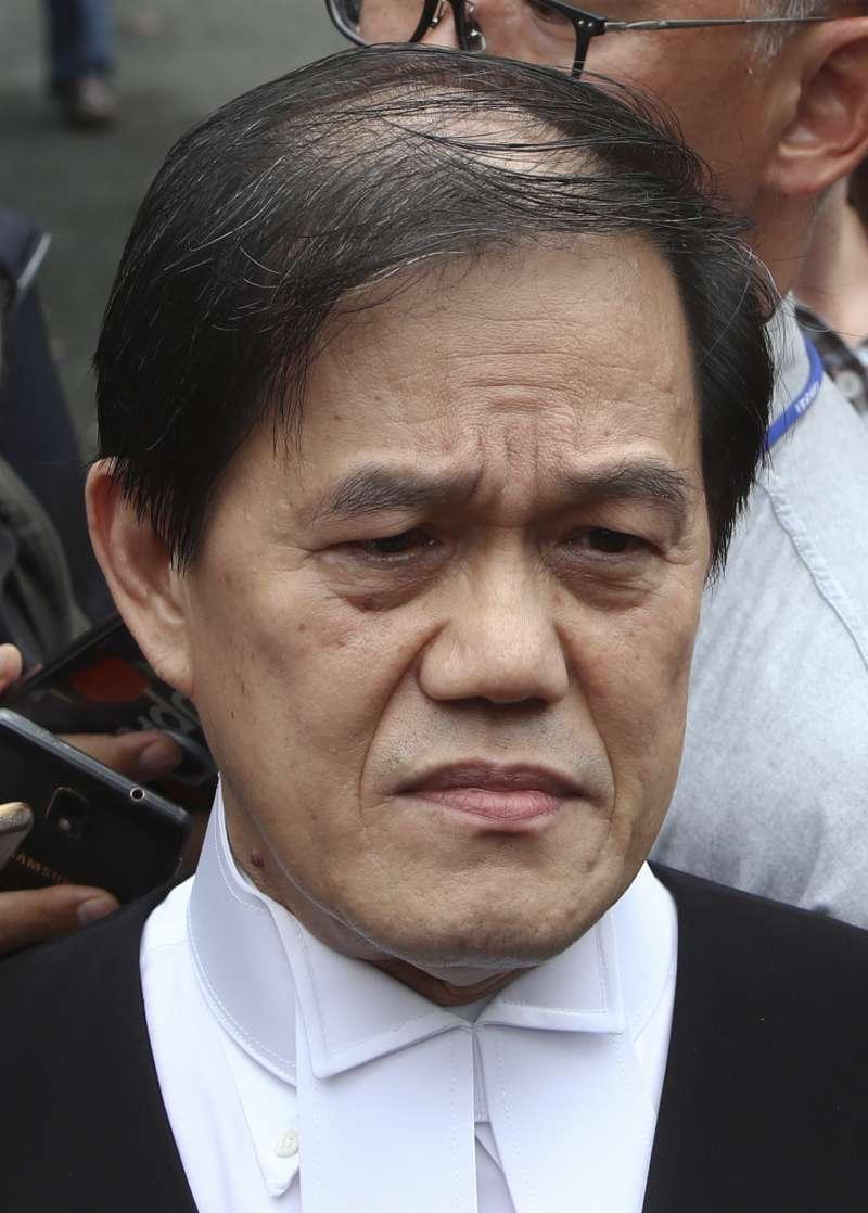 金正男遇刺:越南女嫌段氏凰的辯護律師鄭寶德(AP)