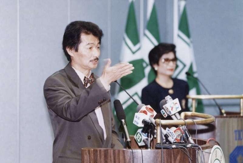 施明德擔任民進黨主席時已經表明不會宣布台灣獨立。(施明德提供)