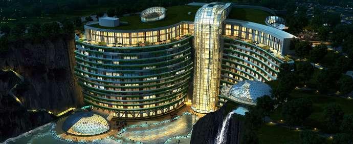 中國上海‧世茂洲際仙境酒店。(圖/elitereaders)