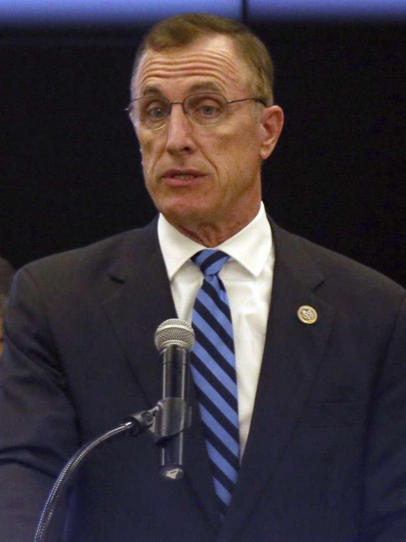 主張反墮胎的美國共和黨賓州聯邦眾議員墨菲被爆料,曾要求情婦墮胎。(美聯社)
