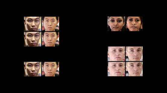 研究顯示,人對於相同種族的臉辨識度較高。(《你有種族歧視嗎》影片截圖)