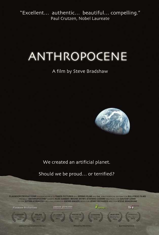 活動當天將播映由Steve Bradshaw執導的紀錄片《人類世》。(財團法人龍應台文化基金會提供)