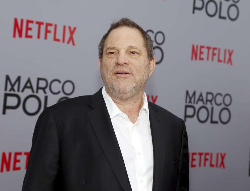 好萊塢知名製作人溫斯坦被踢爆長年藉權勢性騷擾、性侵女演員。(美聯社)