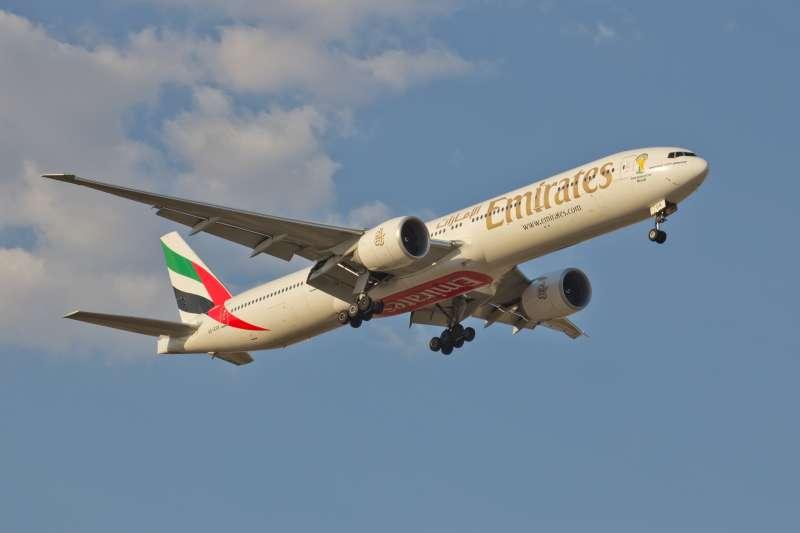 阿聯酋航空(Emirates)(資料照,Carlos Delgado@Wikipedia / CC BY-SA 4.0)