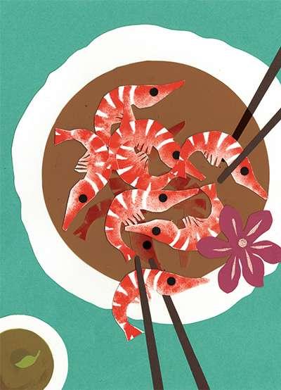 紹興醉蝦(圖/取自Pei-Yu Chang網站)