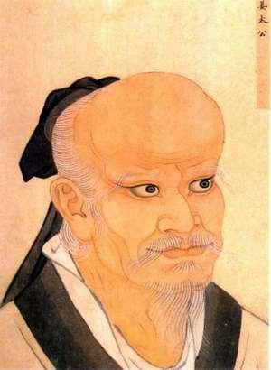輔助西周滅商的功臣姜尚,便是目前見諸文字記載最早的上門女婿。圖為清宫殿藏畫本。(取自維基百科)