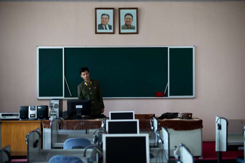 北韓駭客,網路攻擊。(美聯社)