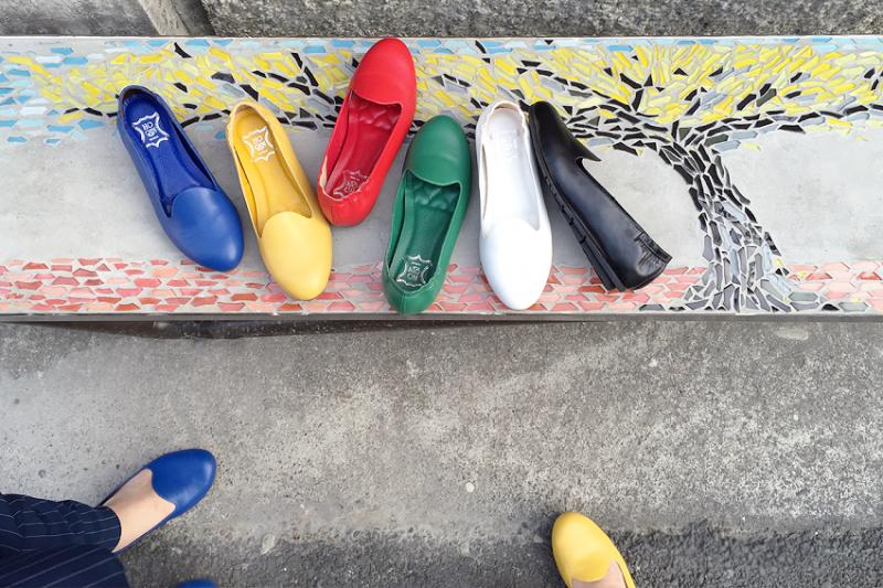 城市漫步系列在台南321藝術巷拍照(圖/張瑋容提供)
