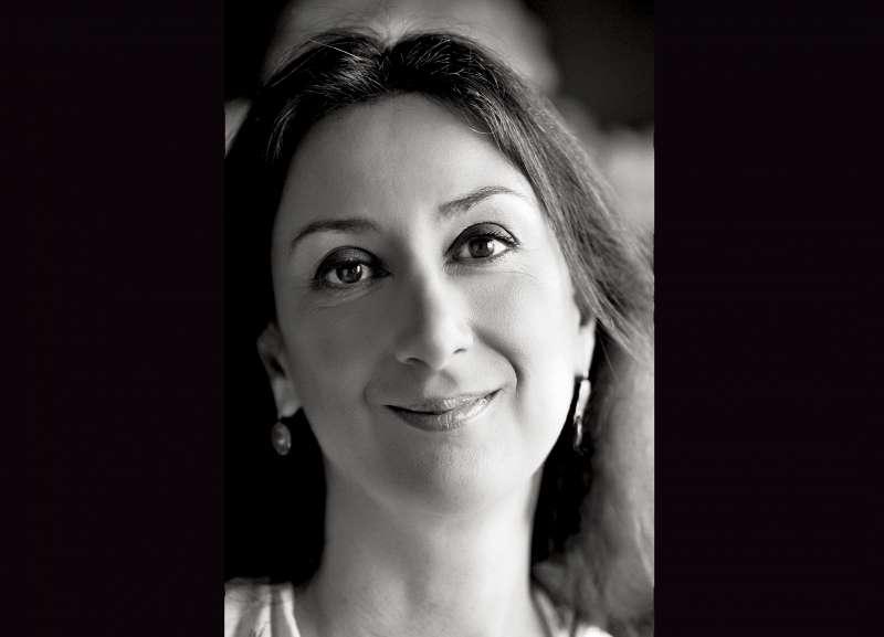 馬爾他獨立女記者嘉麗齊亞揭露貪腐,卻遭汽車炸彈攻擊身亡。(美聯社)