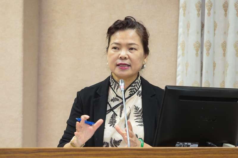 20171018-經濟部次長王美花18日於立院外交國防委員會備詢。(顏麟宇攝)