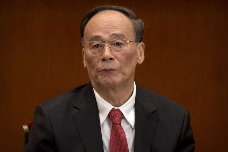 2017年10月18日,中共十九大在北京召開,王岐山(AP)