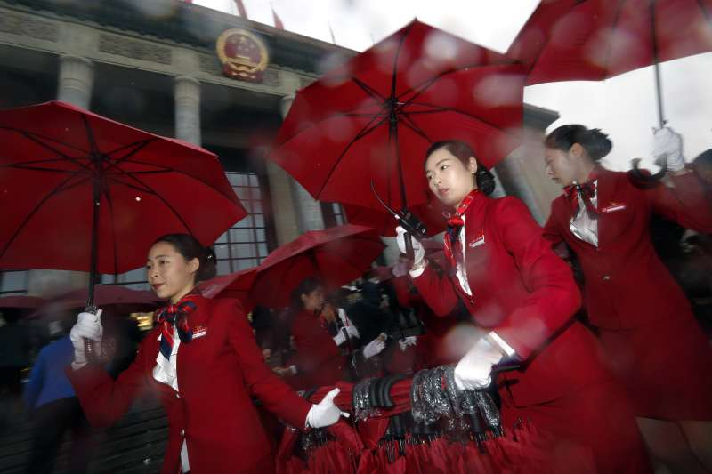2017年10月18日,中共十九大在北京召開(AP)