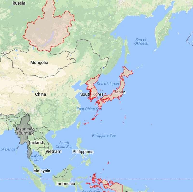 活動發起人表示,如果將時區調整到GTM +9,不但可以有效利用陽光,也可以象徵式的擺脫中國從屬。(取自公共政策網路參與平台)