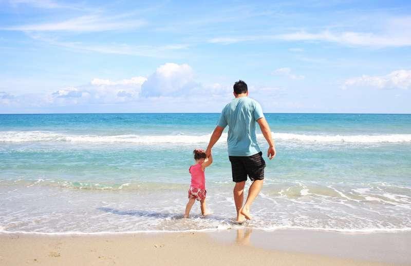孩童、家長、家庭、雙親、天倫之樂。(取自Pixabay)