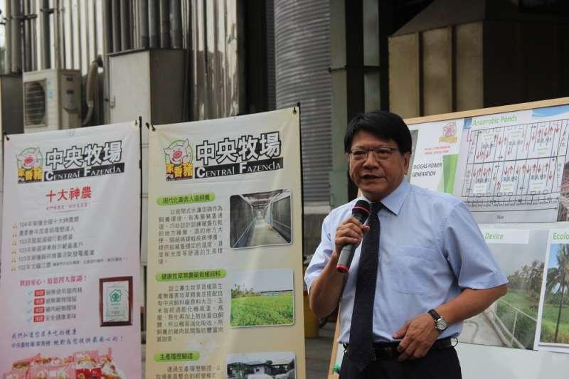 屏東縣長潘孟安表示,屏東縣對於綠能發展極度重視。(圖/屏東縣環保局提供)