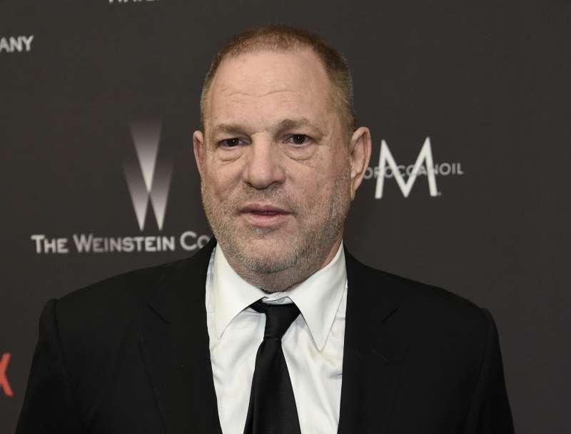 好萊塢色魔製片家溫斯坦(Harvey Weinstein)(AP)