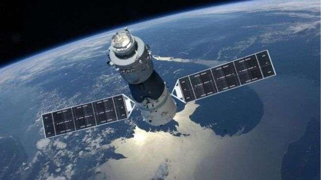 中國的天宮一號失控了,恐怕無法葬身太空飛行器公墓。(BBC中文網)