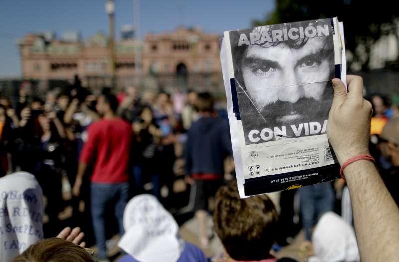 阿根廷原住民人權鬥士馬多納杜失蹤數月,遺體終於被尋獲。(美聯社)