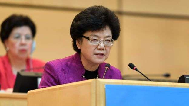 高層女幹部通常分管「女性事務」。比如中央委員李斌擔任國家計劃生育委員會主任。(BBC中文網)