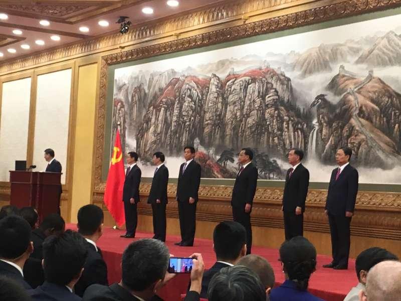 20171025-中國總書記習近平。(王彥喬攝)