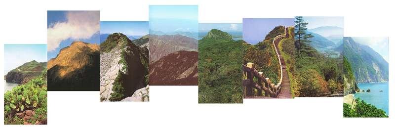 〈Mountains II(山岳二)〉。(圖/新苑藝術提供)