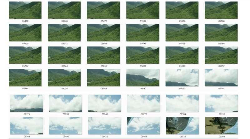 2017-10-26-凌天航空齊柏林空難事件,飛安會事實報告出爐,當中並公布空拍攝影機影片紀錄逐步截圖。(取自飛安會網站)