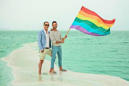 由於同志旅遊時必須考慮安全等因素,而台灣近期對同志友善的形象使得台灣擁有發展 LGBT 旅遊的潛力。(圖/維京人酒吧提供)
