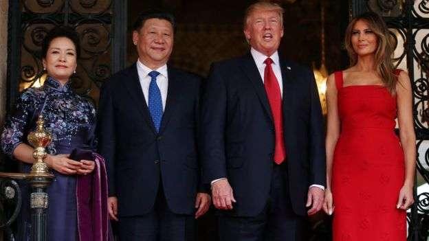 習近平4月曾訪問美國。(BBC中文網)
