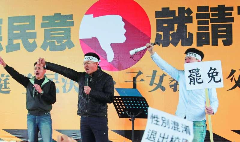 罷免案紛擾對黃國昌造成的影響有待觀察。(柯承惠攝)