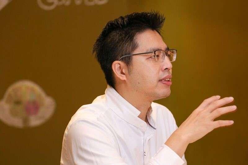 丁俊宏很早就開始嘗試循規蹈矩以外的冒險,因此在進入職場前便毅然決定投身新創(圖 / 風傳媒)