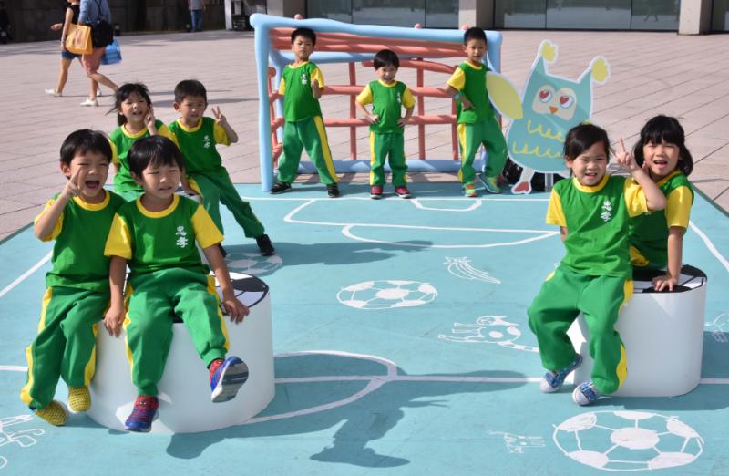 首波小嘉賓-台北市忠孝國小附設幼稚園的小朋友。