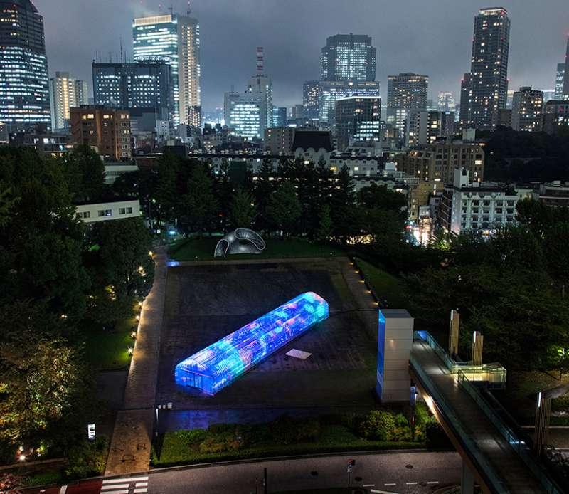數位溫室地點位在東京市中心(圖/取自Designboom)