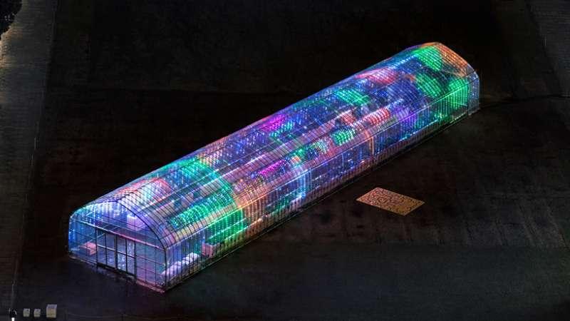 城市裡的溫室,將為你演奏一曲。(圖/取自Designboom)
