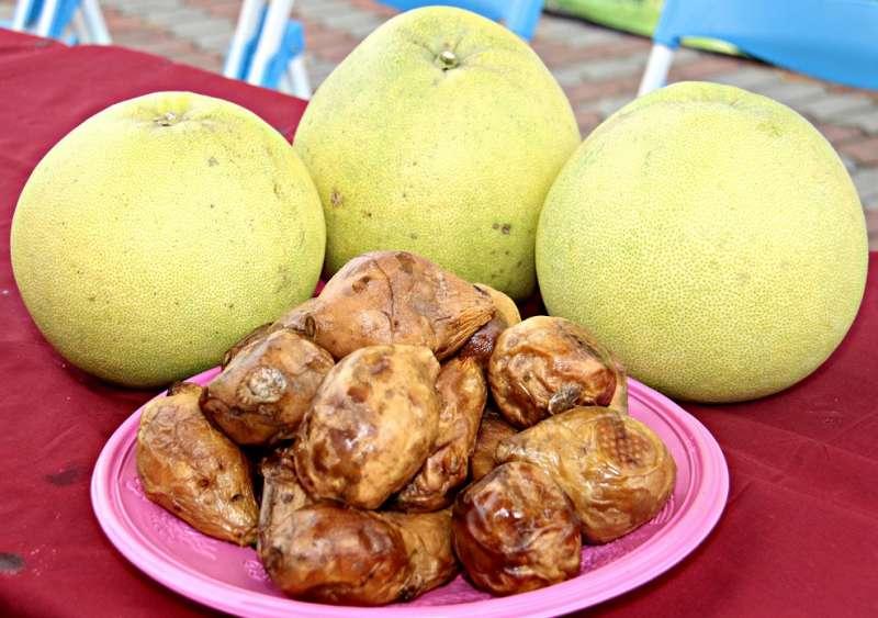 西湖白柚風味絕佳、冰薯更聞名全國。(圖/苗栗縣政府提供)