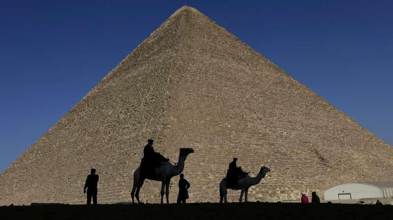 埃及吉薩大金字塔(Great Pyramid of Giza)(AP)
