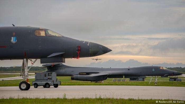 美軍B-1B轟炸機。(德國之聲)