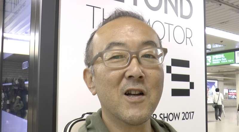 日本受訪者川上葉(音)。(美聯社)
