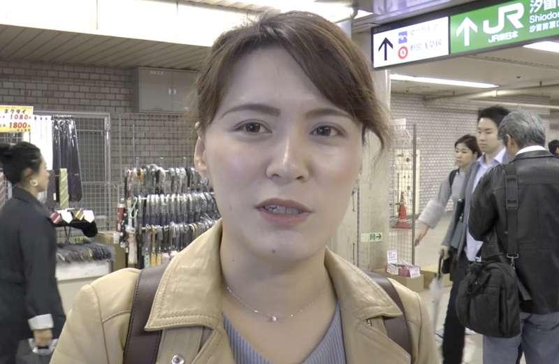 日本受訪者勝山裕(音)。(美聯社)