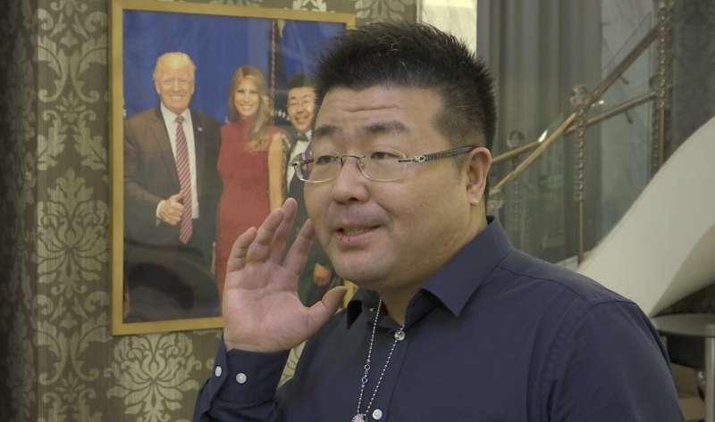 中國知名微博博主丁辰靈。(美聯社)