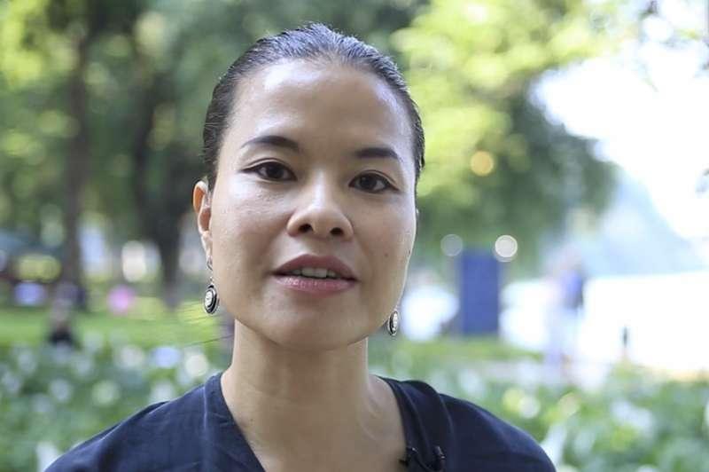 越南受訪者芭荷娜連(音)。(美聯社)