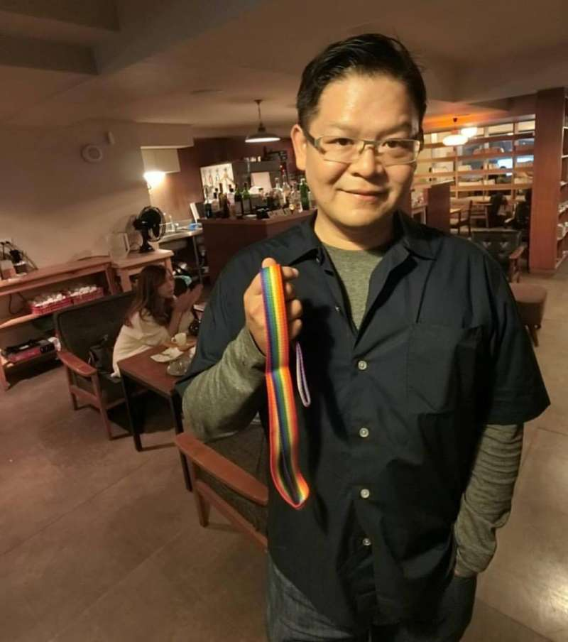 曾擔任新竹市長林智堅辦公室主任的賴稟豐決定投入市議員選舉。(取自賴稟豐臉書)