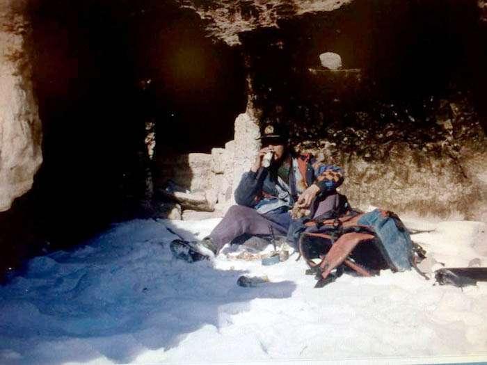 藝術家張焰於西藏。(圖/張焰)