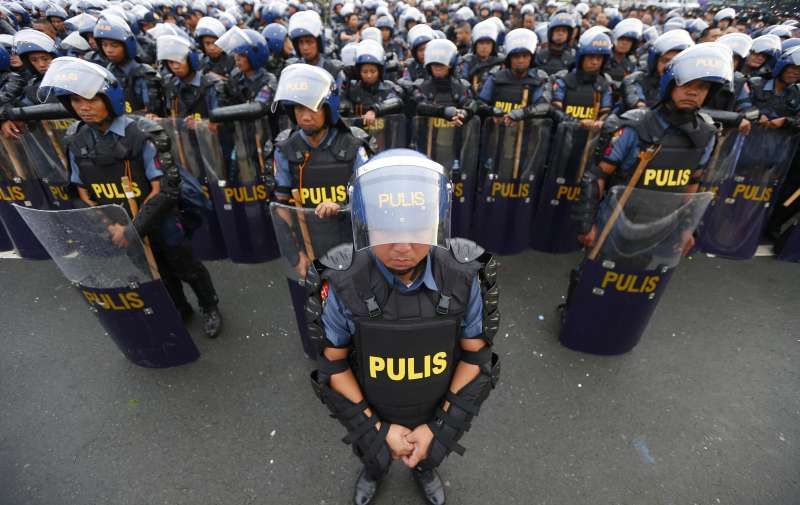 菲律賓近年發展快速,但伊斯蘭武裝分子成為安全危機。(美聯社)