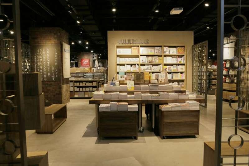 MUJI台南旗艦店,為首家引進MUJI BOOKS的海外無印良品門市。(圖/取自日本MUJI官網)
