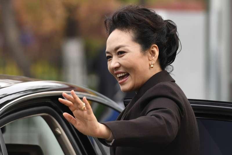 中國國家主席習近平夫人彭麗媛。(美聯社)